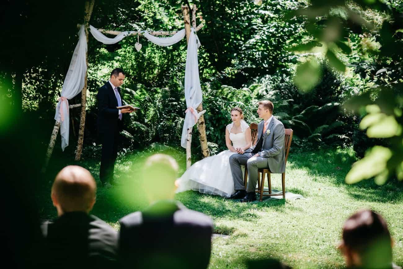 Freie Trauung Tag eurer Hochzeit