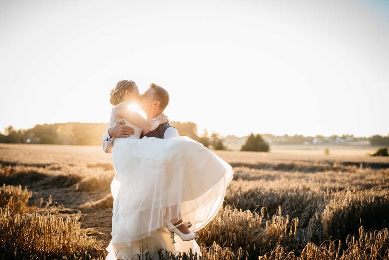 Sonnenuntergang Hochzeit Tag eurer Hochzeit