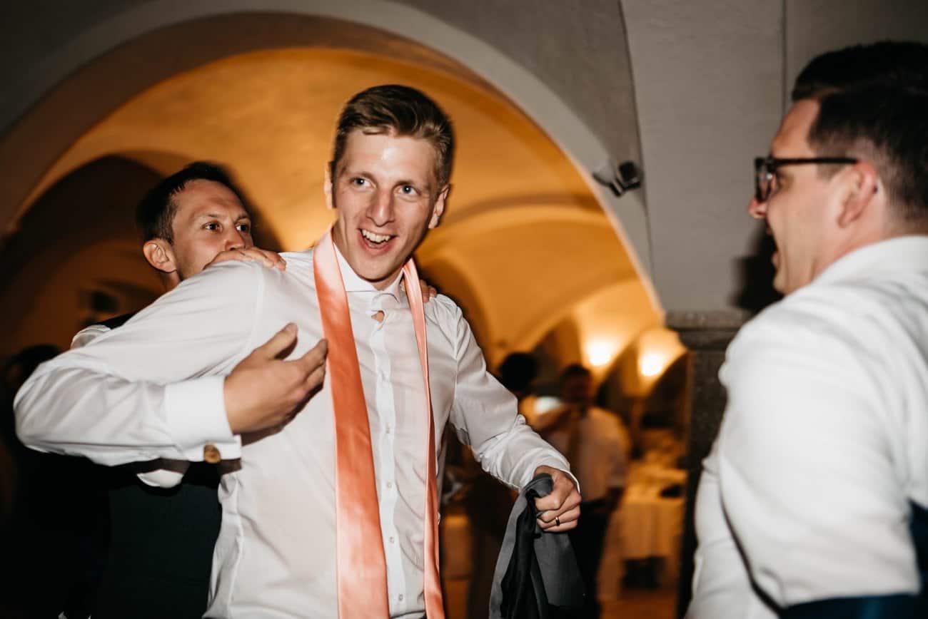 Hochzeitsparty Tag eurer Hochzeit