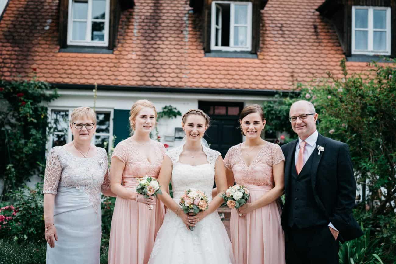 Dresscode für eure Hochzeit Gruppenbilder