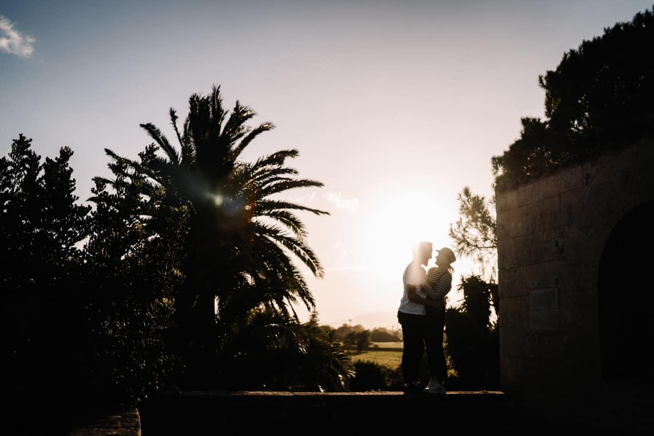 Stimmungsvolles Paarshooting Mallorca