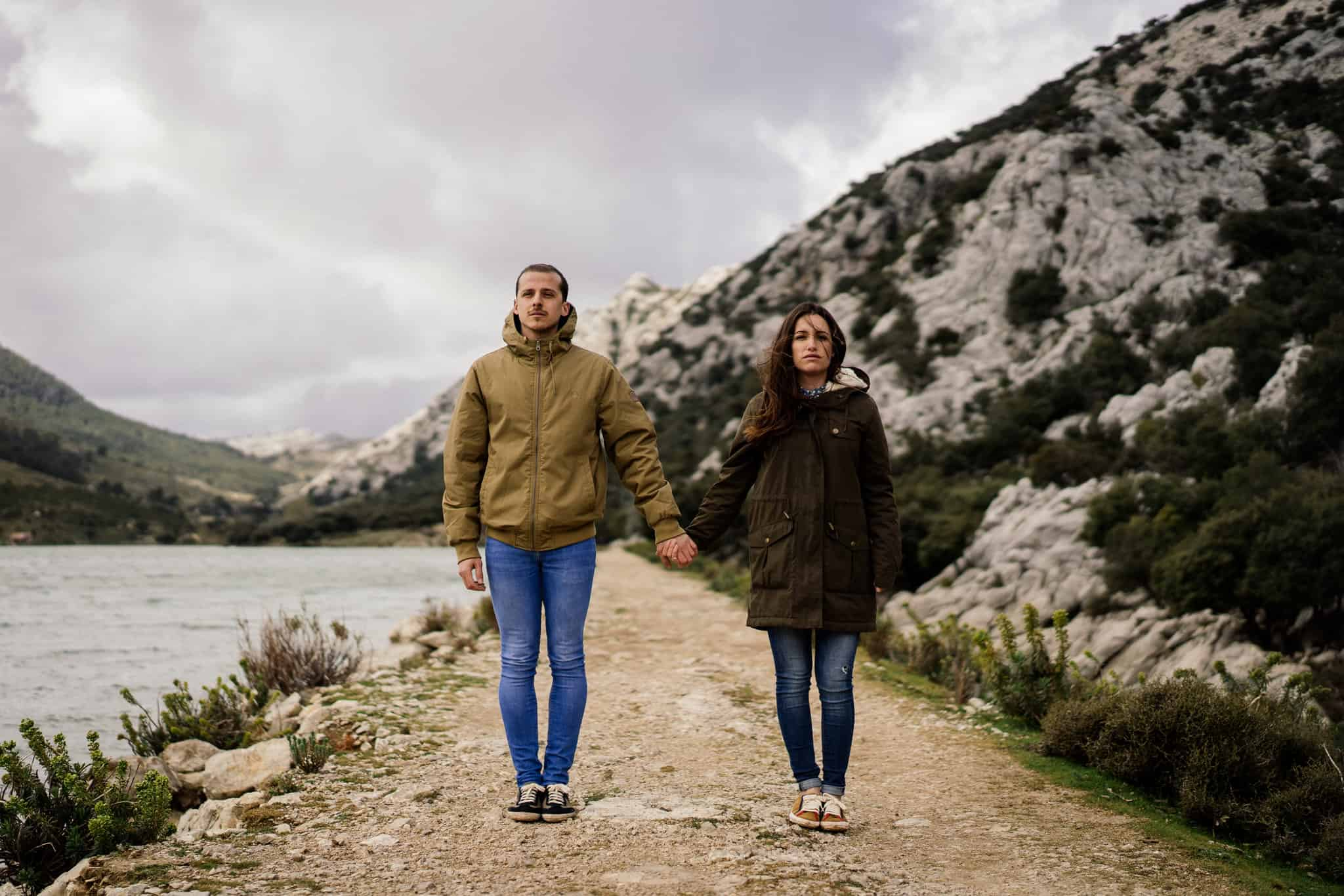 Coupleshooting Mountains Majorca