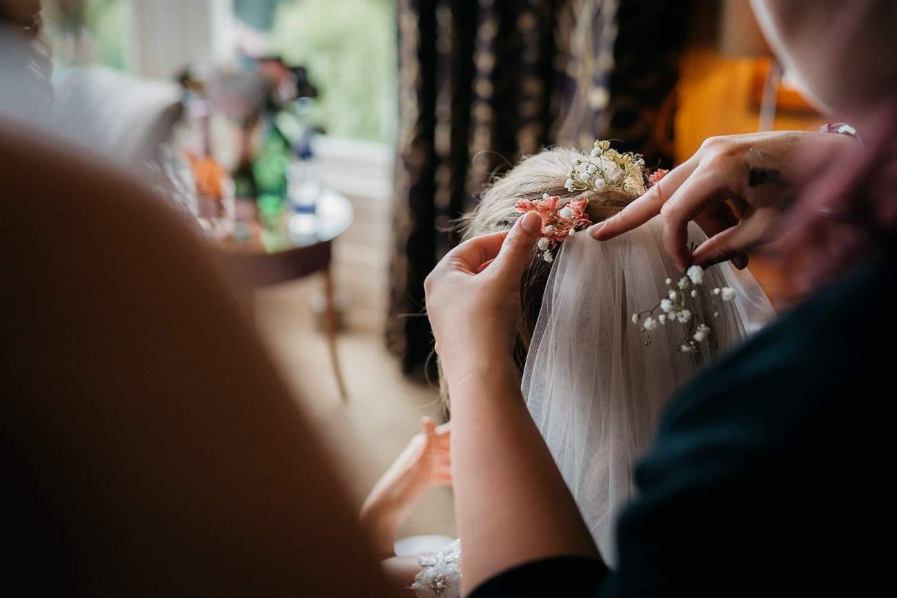 Hochzeit im Ausland im edlen schottischen Schlosshotel