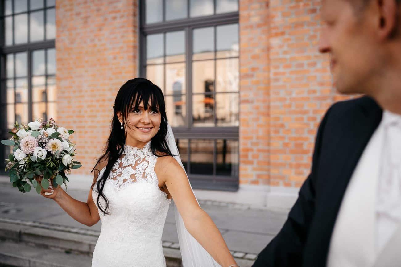 Hochzeitsfotograf Kesselhaus Alte Spinnerei Kolbermoor Rosenheim Hochzeit