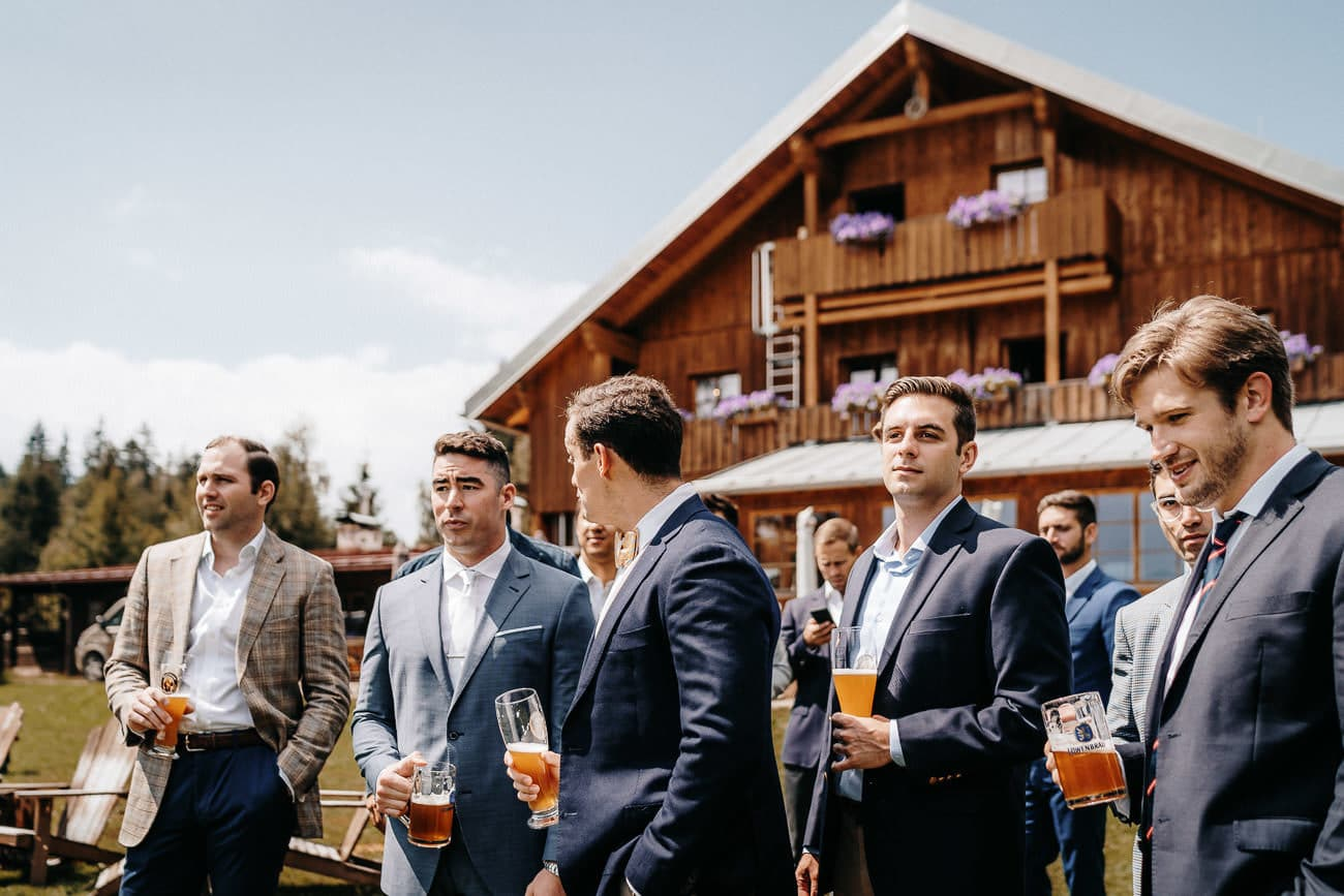 Almbad Huberspitz Schliersee Alpenhochzeit Huberspitzalm Hochzeit