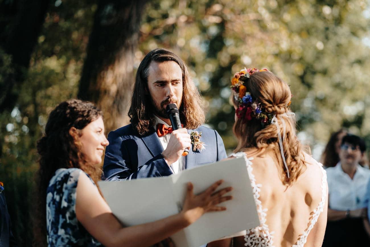 Hochzeit Eventlocation Kaltmühle Hebertshausen Boho Vintage freie Trauung