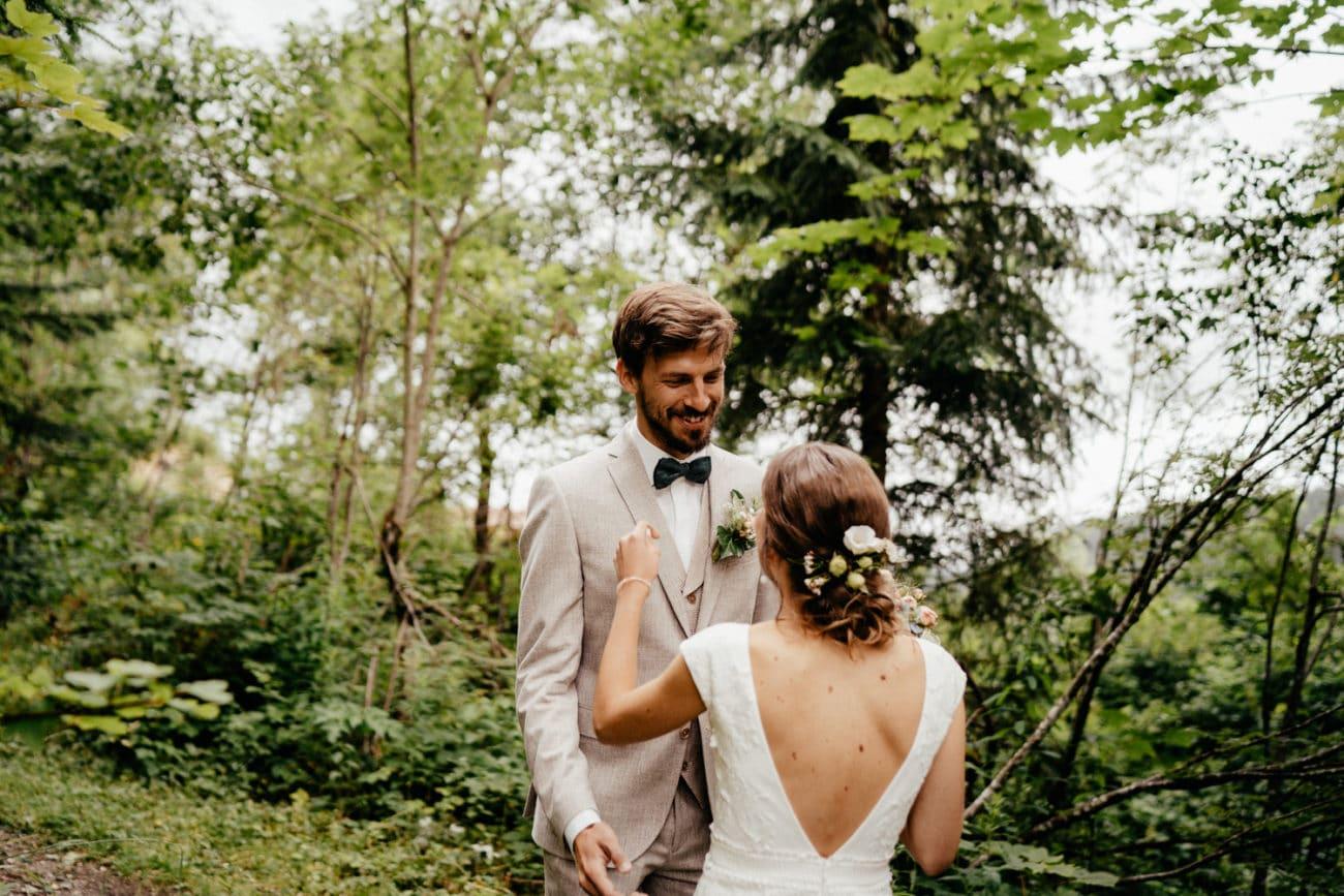 Standesamtliche Hochzeit in den Bergen Hochzeitsfotograf Bayern