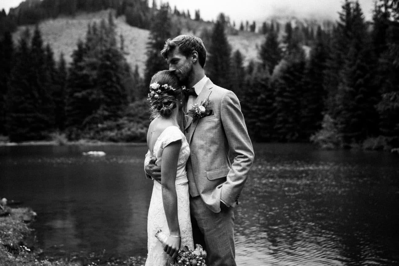 standesamtlich heiraten in den Alpen Bergen Hochzeitsfotograf