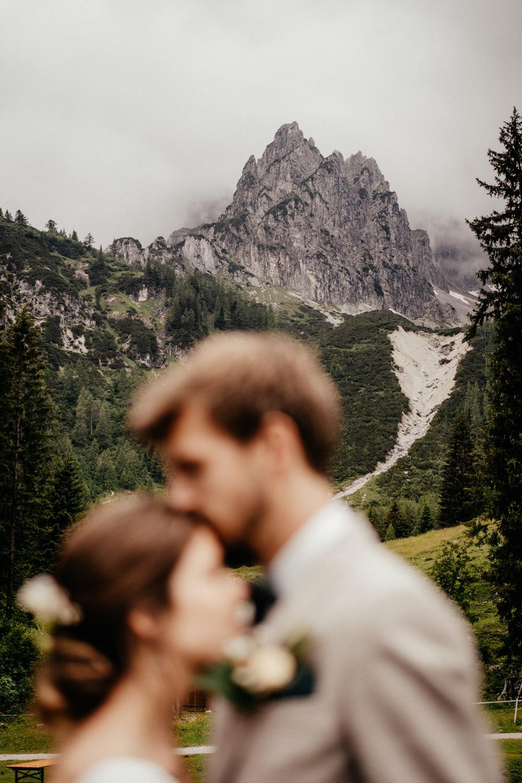 Heiraten freie Trauung in den Alpen Hochzeitsfotograf München