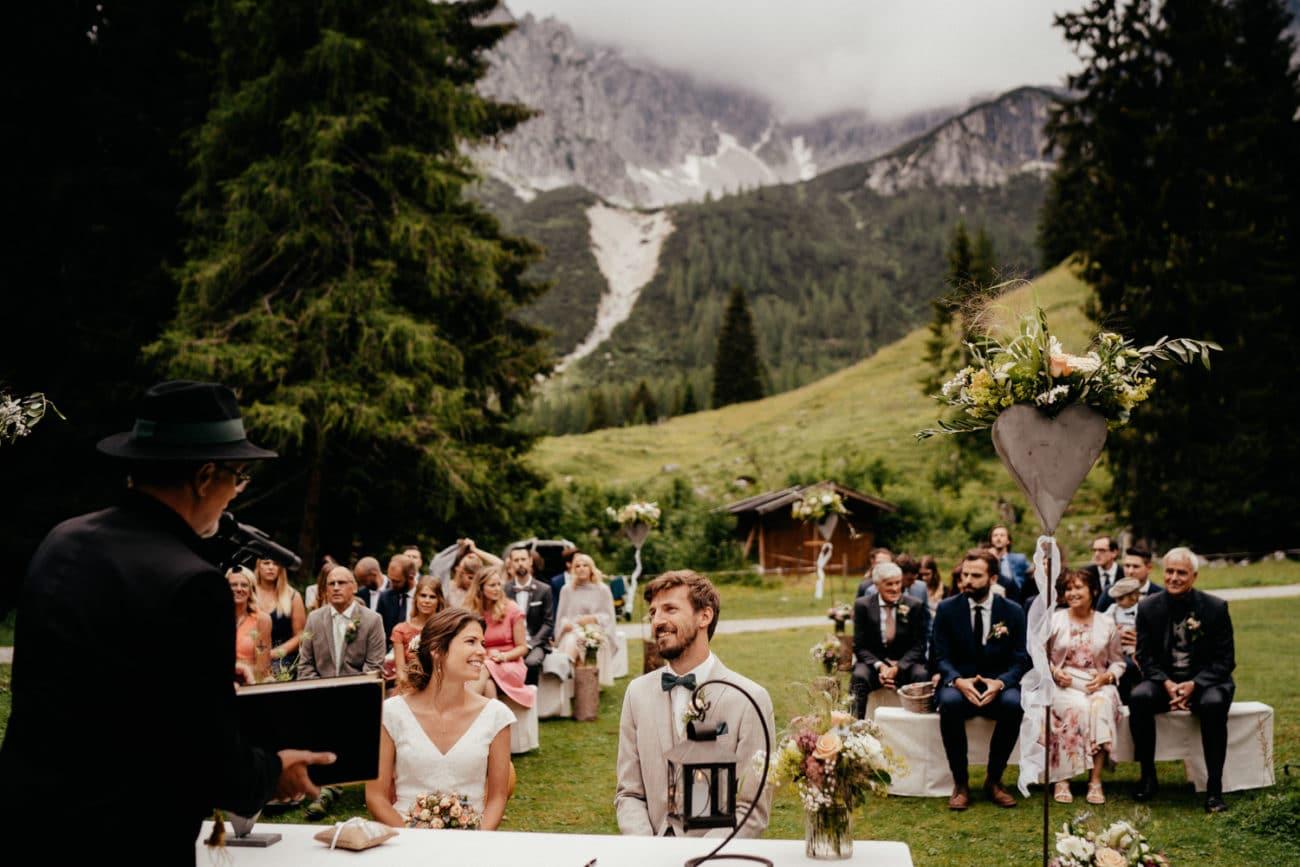 Heiraten in den Alpen Hochzeitsfotograf München