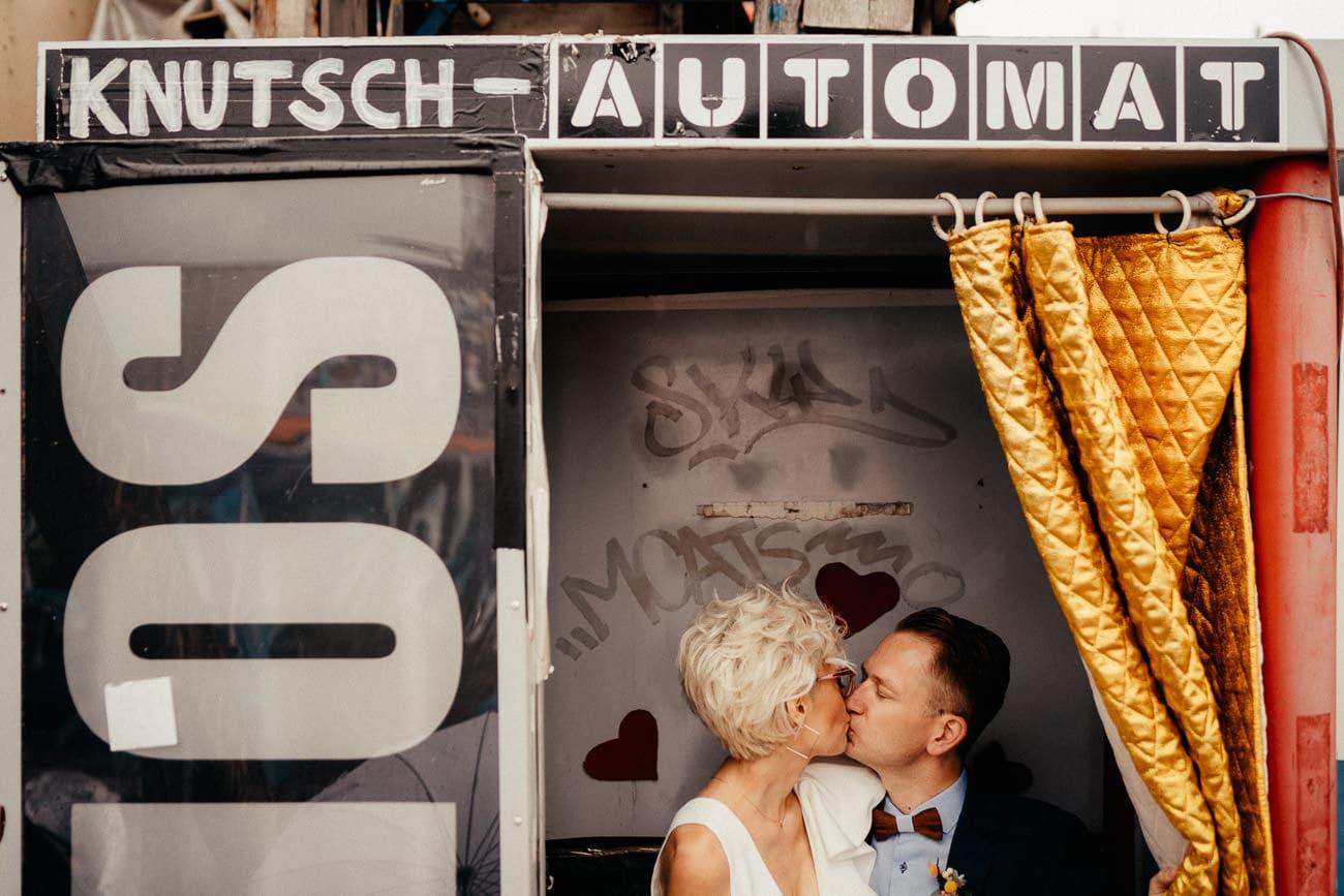 Elopement Hochzeit zu zweit München