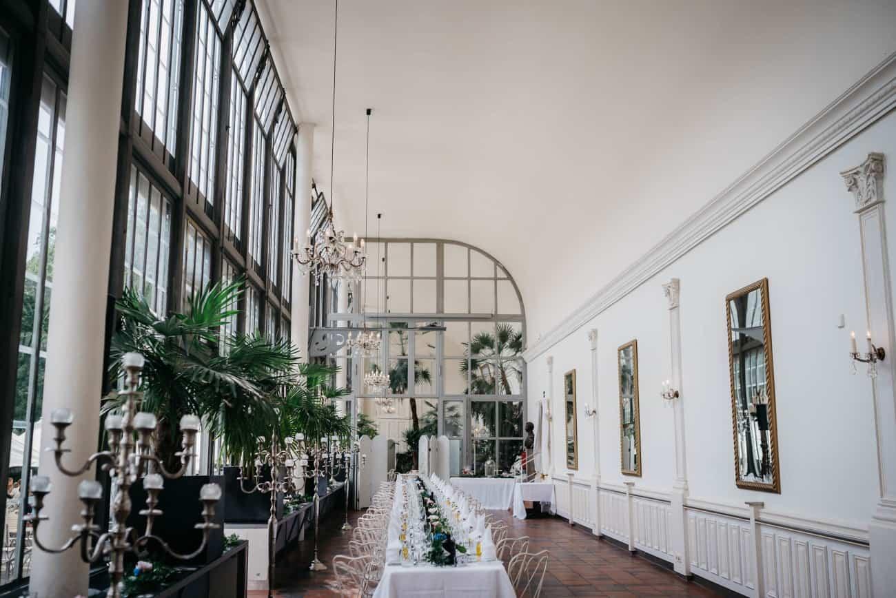 Palmenhaus Schloss Nymphenburg Hochzeit